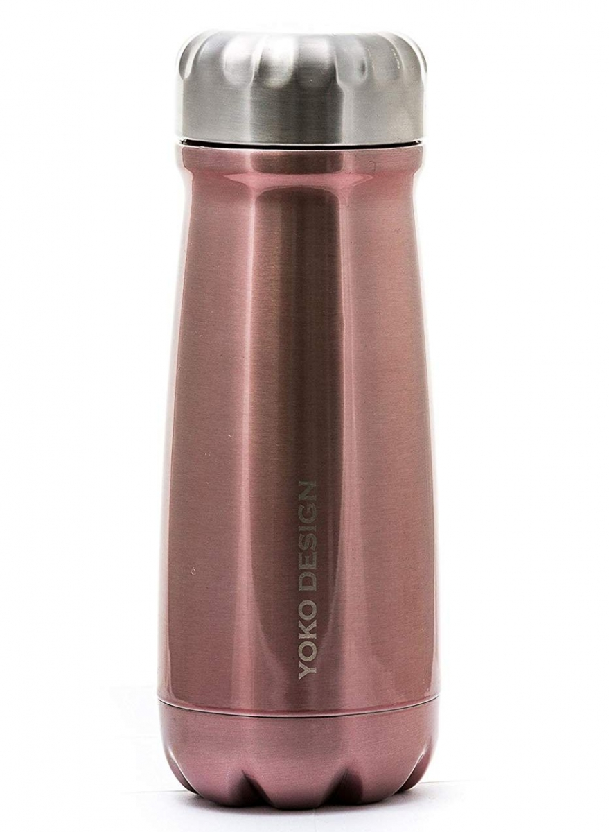 Yoko Design termolahev Isothermal Bottle, 500 ml - růžovo-zlatá
