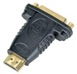 Adaptér HDMI A - DVI-D M/F