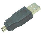 USB redukce A-B M/M mini USB 5pin