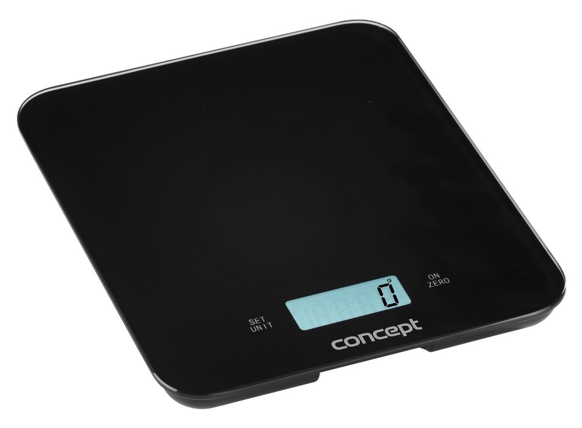Kuchyňská váha digitální Concept VK5712, 15 kg, černá
