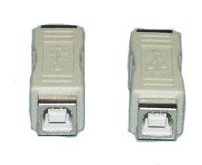USB redukce B-B, F/F