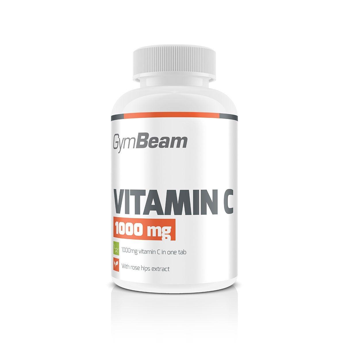 Gym Beam Vitamín C 1000 mg,90 tablet