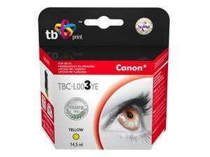 Žlutá inkoustová kazeta TB kompatibilní s Canon BCI-3EY - Alternativní TBC-L003YE