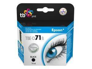 Černá inkoustová kazeta TB kompatibilní s Epson T0711 Black - Alternativní TBE-D71B