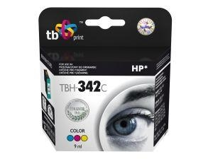 Tříbarevná inkoustová tisková kazeta HP 342 (HP342, HP-342, C9361EE), 9ml TB - Alternativní TBH-342C