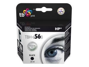Černá inkoustová tisková kazeta HP 56 (HP56, HP-56, C6656AE), 25ml TB - Alternativní TBH-656B