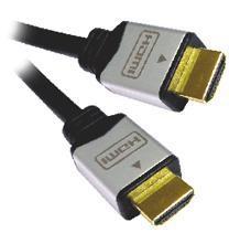 Kabel HDMI A - HDMI A M/M 5m zlacené konektory, verze HDMI 1.3