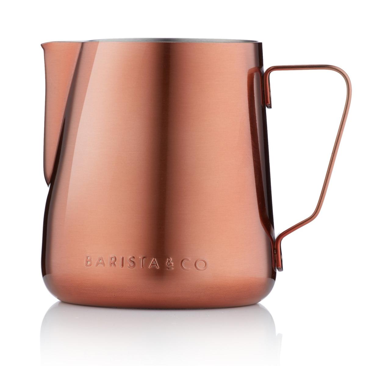 Barista & Co konvička na mléko, 420 ml - Copper