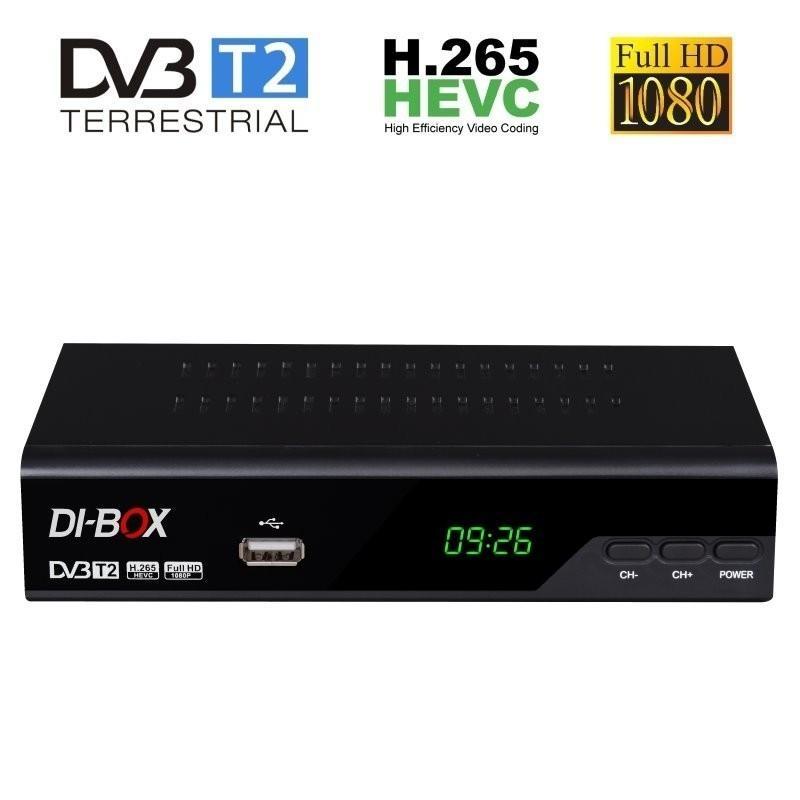 FULL HD přijímačDI-Box DVB-T2 V3