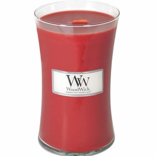 AŽ 130 HODIN HOŘENÍ!Svíčka WoodWick Pomegranate 609,5 g