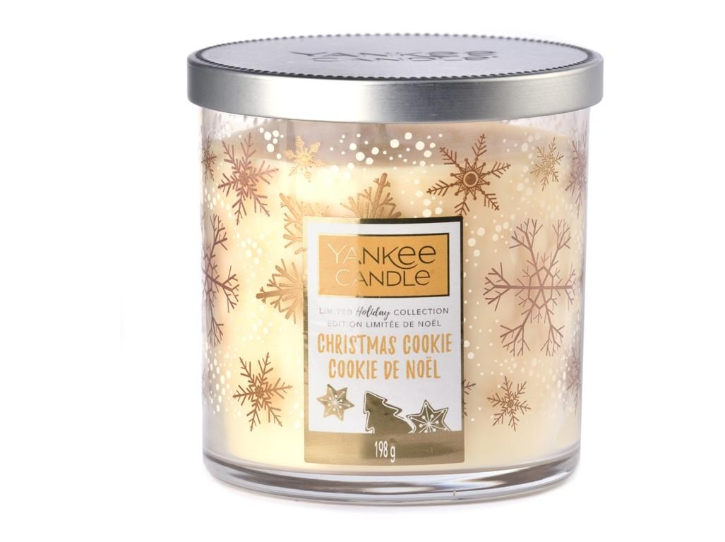 Vonná svíčka Yankee Candle Christmas Cookie Limited Decor