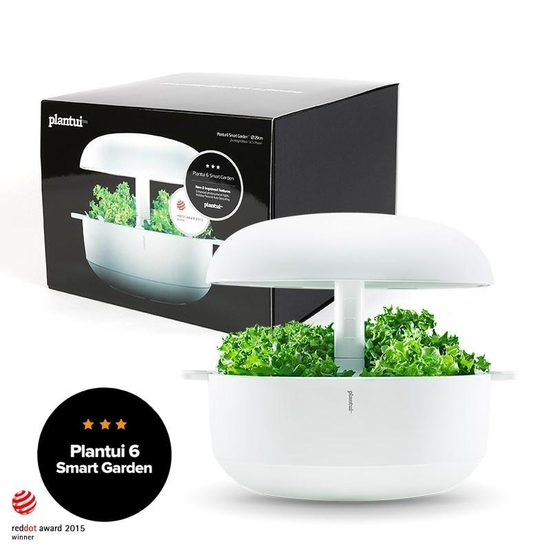 Plantui 6 Smart Garden, chytrá zahrádka, bílá - bílá