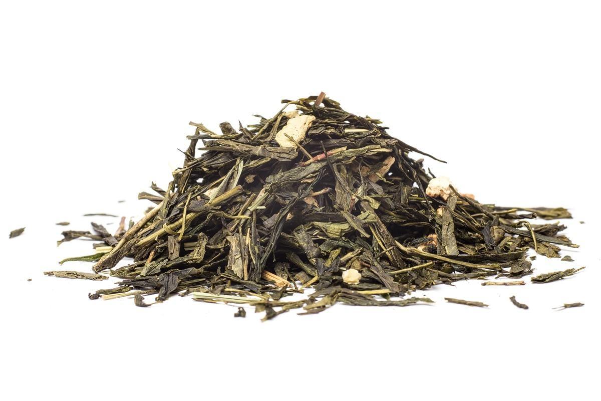 Zelený čaj ManuTea Sencha citrónová - 100 g