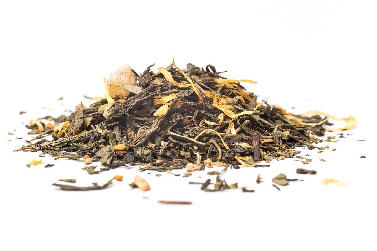 Zelený čaj ManuTea Tajemný zázvor - 50 g