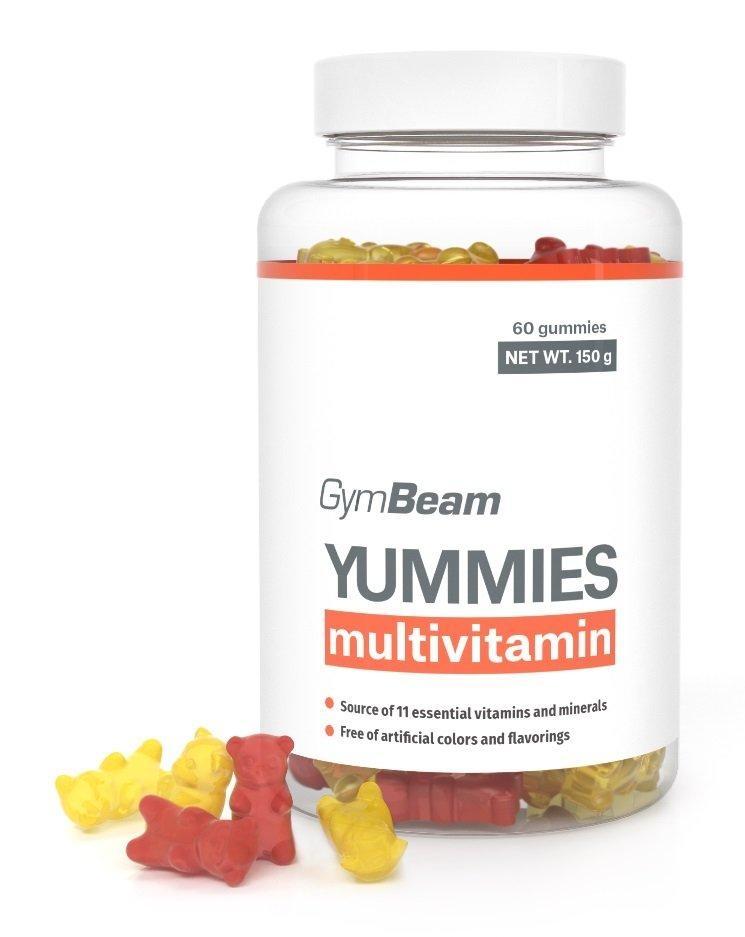 Multivitamíny GymBeam Yummies, 60 kapslí