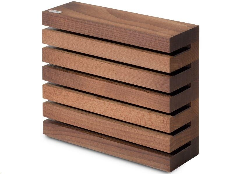Blok na nože Wüsthof magnetický-hnědý
