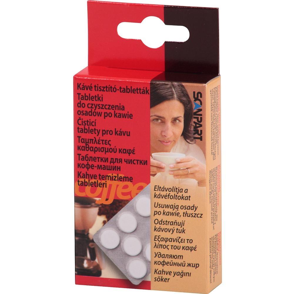 Čistící tablety do kávovarů Scanpart 10 ks