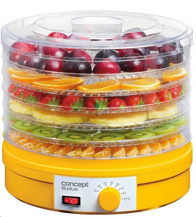 Sušička ovoce CONCEPT SO-1015 6 PLUS