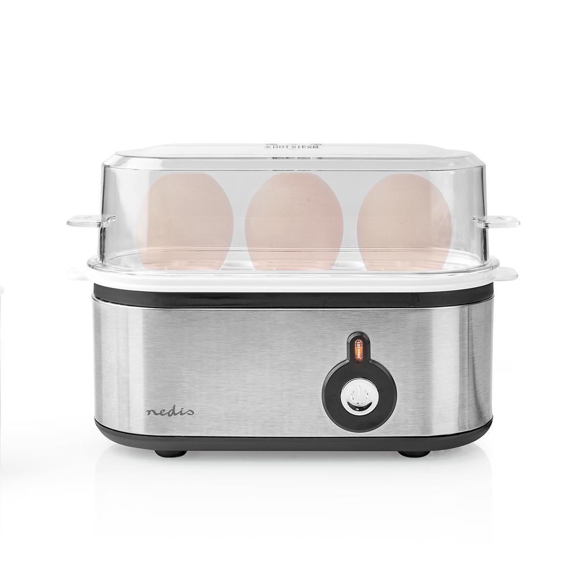 Vařič vajec Nedis KAEB120EAL, na 3 kusy