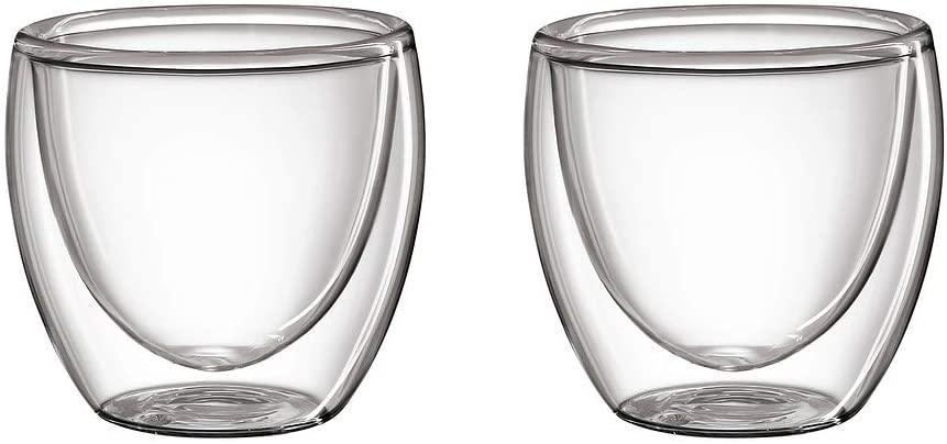 Cilio Set 2 skleněných šálků na espresso 0,80 ml