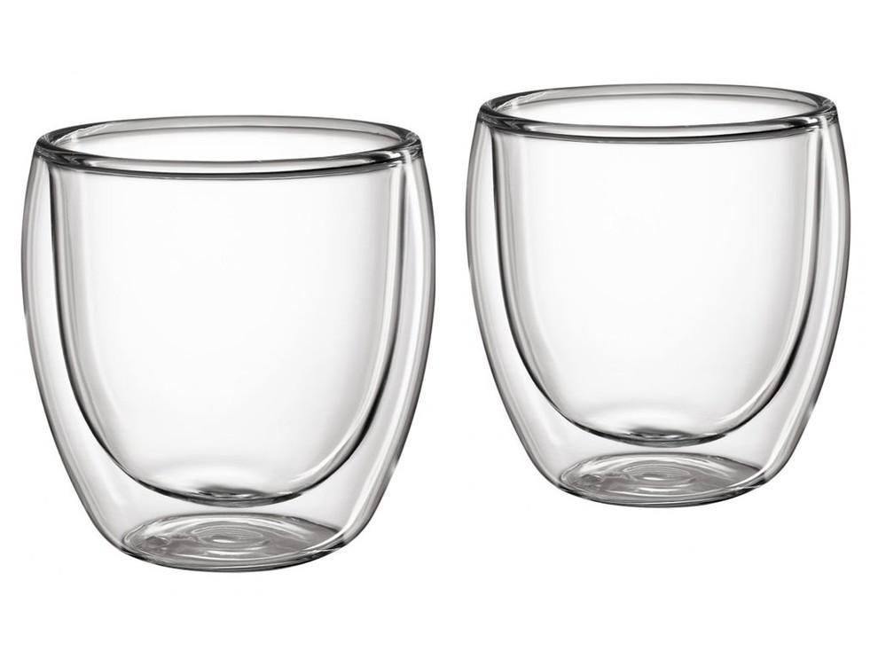 Cilio Set 2 skleněných šálků na kávu 250 ml