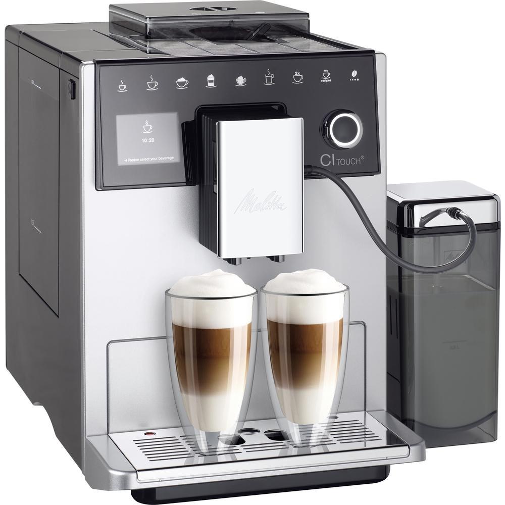 Automatické espresso Melitta CI touch, stříbrná