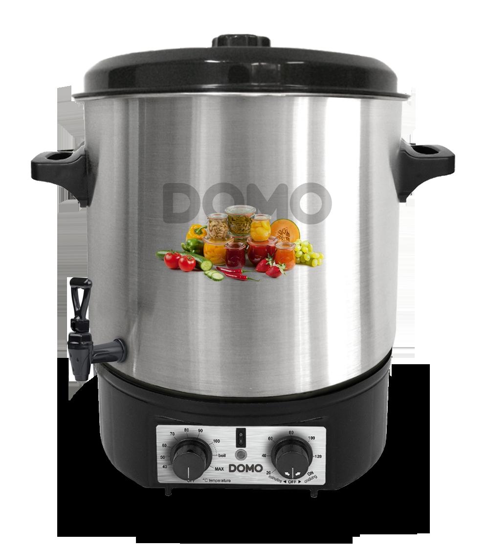 Zavařovací hrnec nerez DOMO DO42323PC - plastový kohout