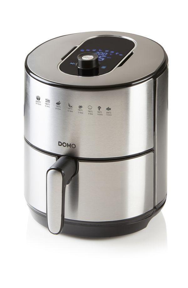Digitální horkovzdušná fritéza DOMO DO530FR, 4 l, nerezová