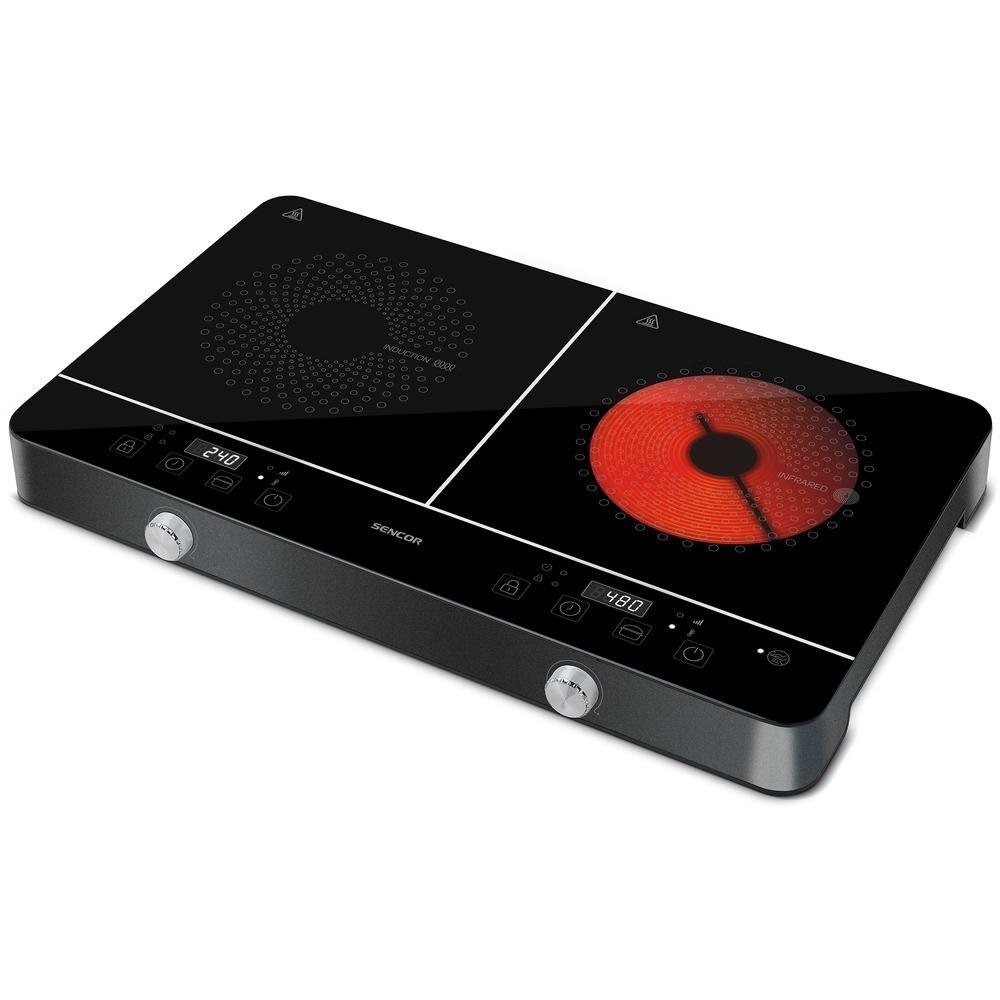 Indukční vařič Sencor SCP 4001BK
