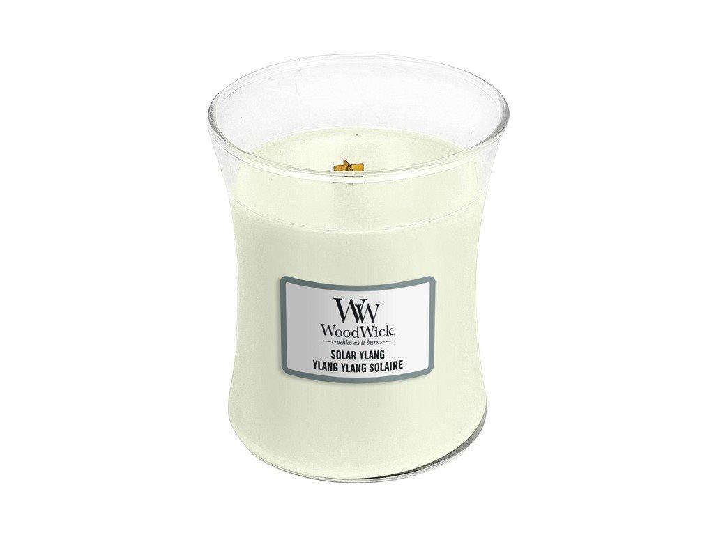 Vonná svíčka WoodWick, 275g - Solar Ylang