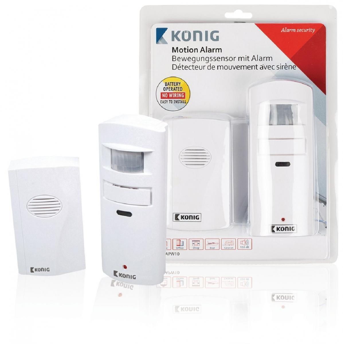 Alarm/zvonek + bezdrátové pohybové čidlo (SAS-APW10)