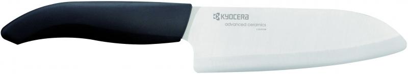 Keramický nůž Kyocera FK-140WH 14 cm, Bílo-černá