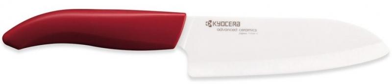 Keramický nůž Kyocera FK-140WH-RD 14 cm, - Červená