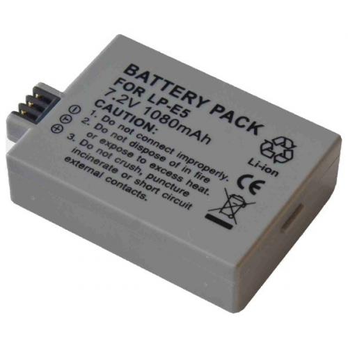 Baterie Extreme Energy typ Canon LP-E5, Li-Ion 1200 mAh, šedá Canon LP-E5